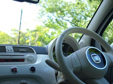FIAT 500で小旅行