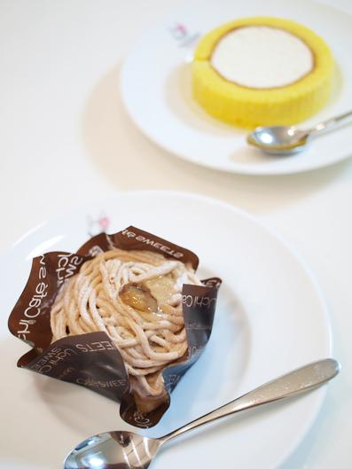 Uchi Cafe SWEETS、おいしいわー