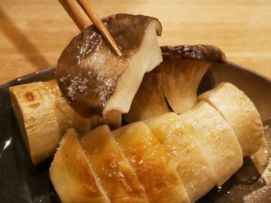 肉山 本八幡 焼き野菜 エリンギ