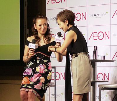 冨田リカさんと金子エミさん
