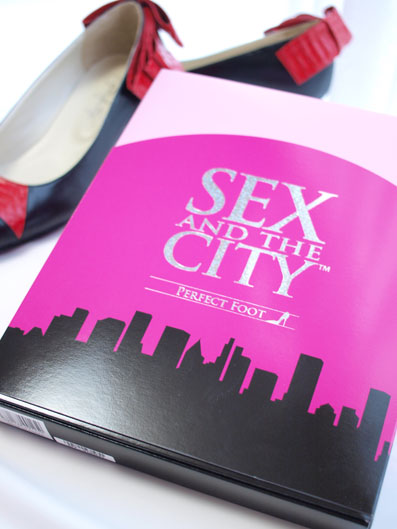 SEX AND THE CITY オフィシャル商品「PERFECT FOOT」