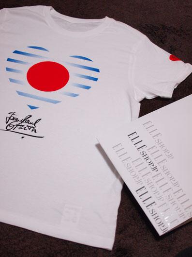 エル・オリジナル震災復興支援チャリティTシャツ ジャンポール・ゴルチエ