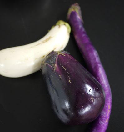 茄子食べ比べ