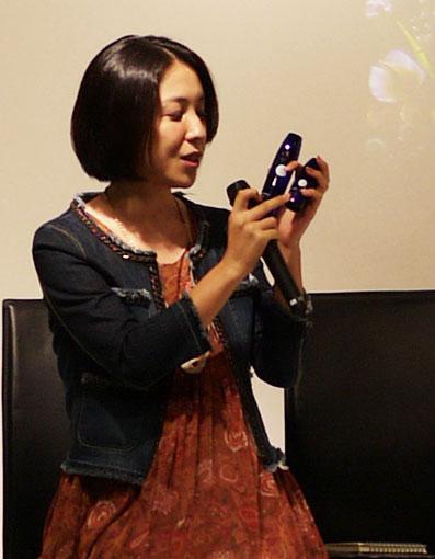 開発者の林田七恵さん