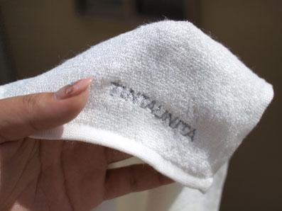 薄手のやわらかいタオル
