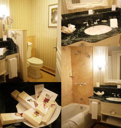 バスルームも広くてキレイ!