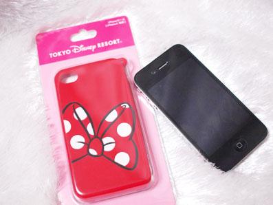ミニーちゃんのiPhoneケース