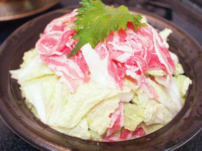 白菜と豚肉のタジン鍋