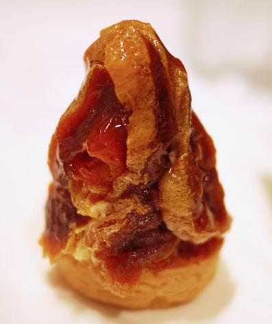 富山干柿のタルト