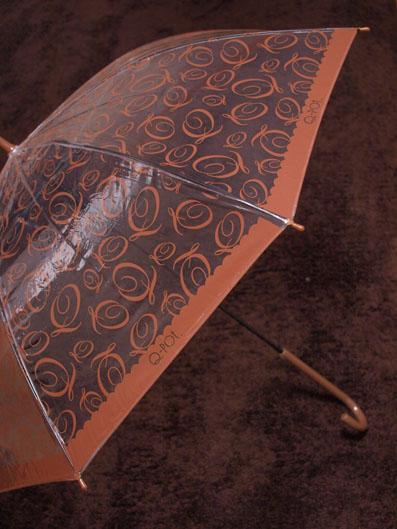Chocolat du Q Vinyl Umbrella