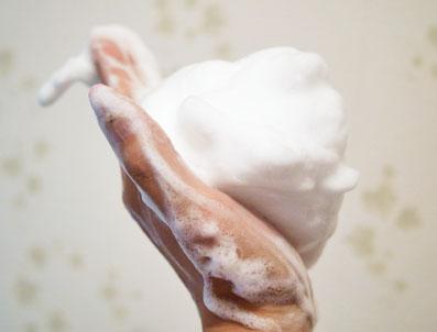 ホイップクリームのよう