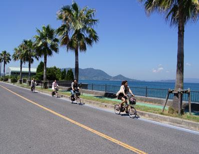 サイクリング、サイクリング、やほー!やほー!