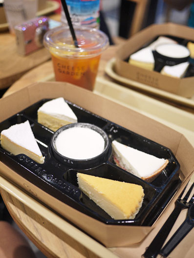 チーズケーキアソート
