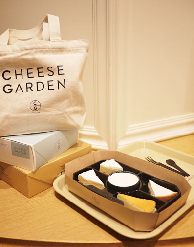 チーズガーデンのチーズケーキをソラマチで