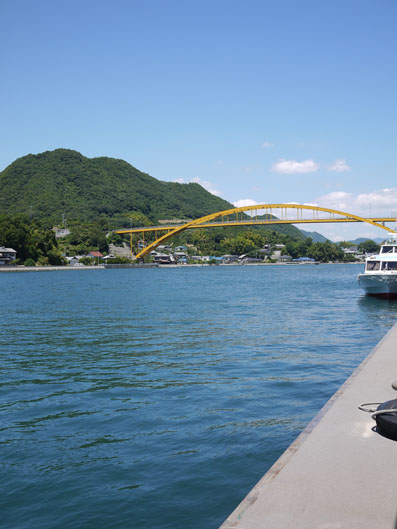 瀬戸田港から尾道へ