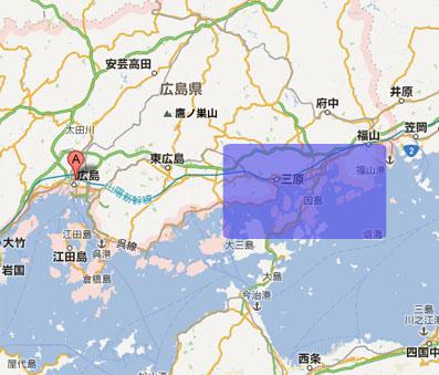 広島のこのあたりに行ってきました
