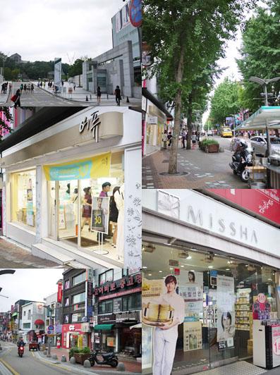 梨花女子大学付近のお店