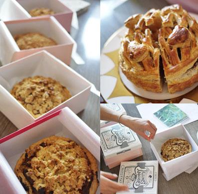 美人を作るアップルパイ