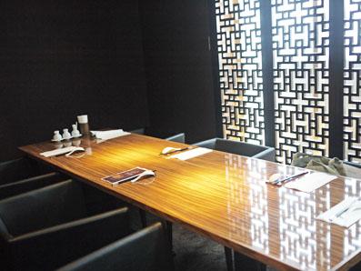 6席の個室