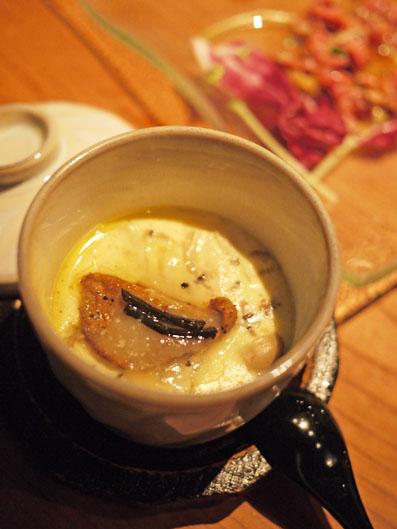 フォアグラの茶碗蒸し トリュフの香り