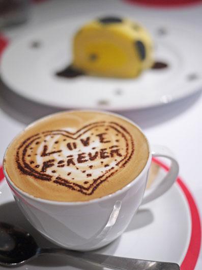 カフェラテ LOVE FOREVER