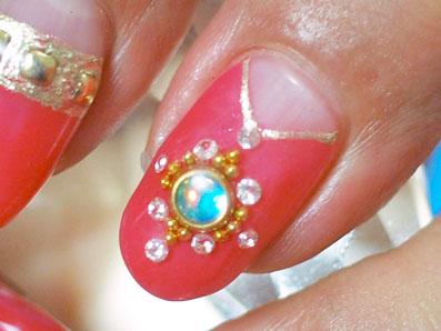 ダイヤモンドでデザイン