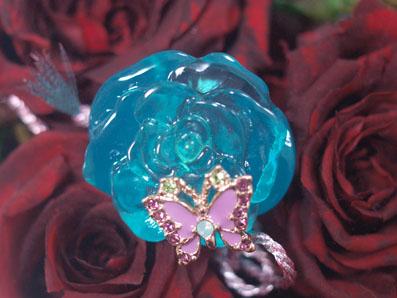 薔薇と蝶々