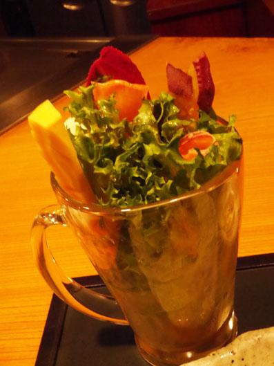 野菜工場直送フリルレタスと彩りサラダ