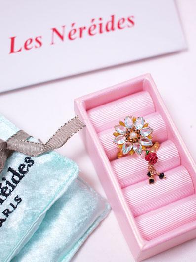 Les Nereides(レネレイド)Bouton de Rose リング
