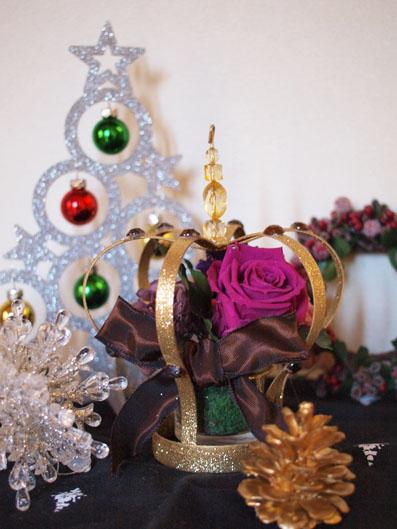 クリスマスシーズンの玄関