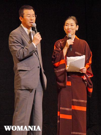 達川光男さんによるトークショー