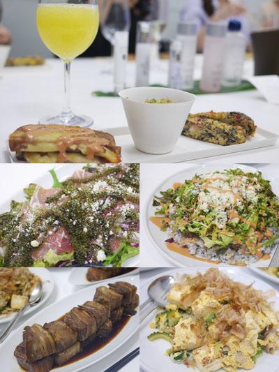 沖縄料理と共に