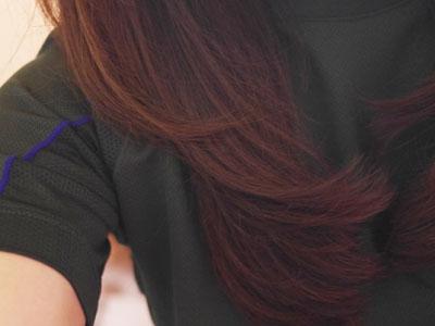 髪がとぅるとぅるに