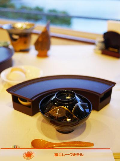 富士レークホテルの夕食