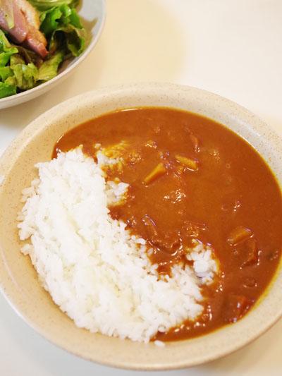 ごぼう入り野菜カレー