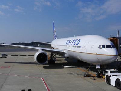 ユナイテッド航空で行く