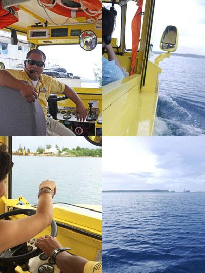 海へダイブ