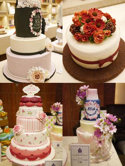 ケーキ部門・アマの部&プロの部