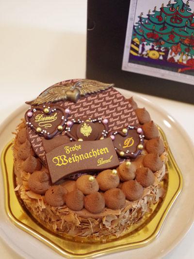 2014年クリスマス忘年会のケーキ