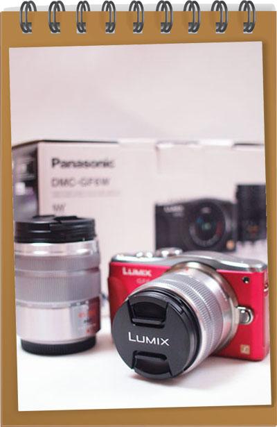 Panasonic「LUMIX GF6」