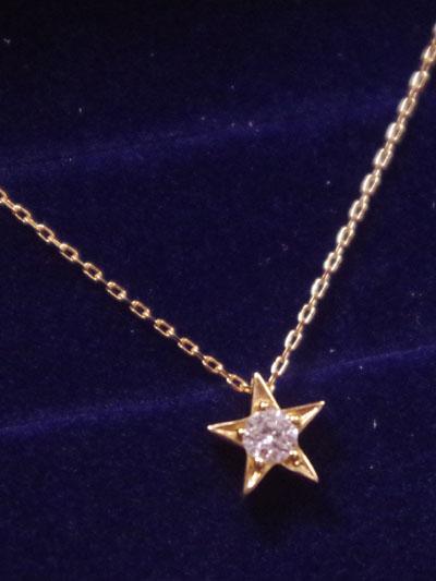 ふたつの星を持つダイヤモンドカット