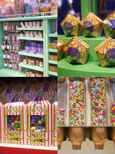 お菓子を買うのも並びます