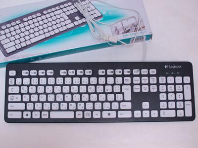ややしっかりめのキーボード