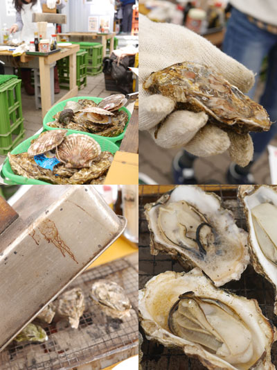 広島県産の牡蠣