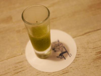 緑のガスパチョ