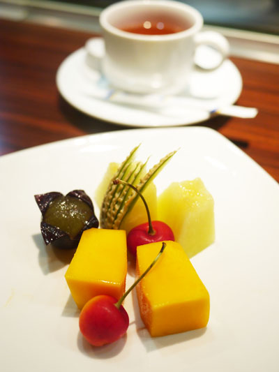 デザートはフルーツ