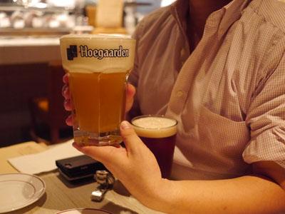 ビールでゴキゲン