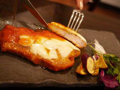 北海道江別産豚ロースのピッツァイオーラ