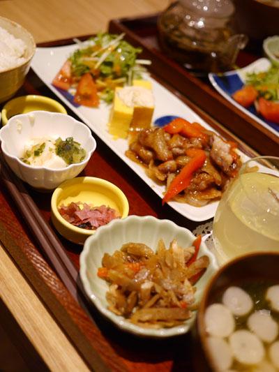 カフェ ソラーレ Tsumugiのランチ