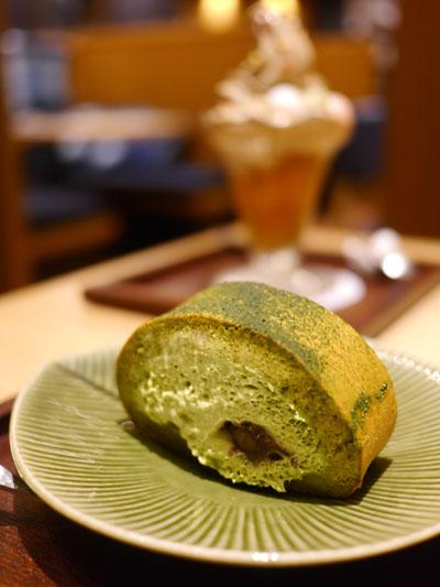 銀座瑠璃堂島抹茶ロール
